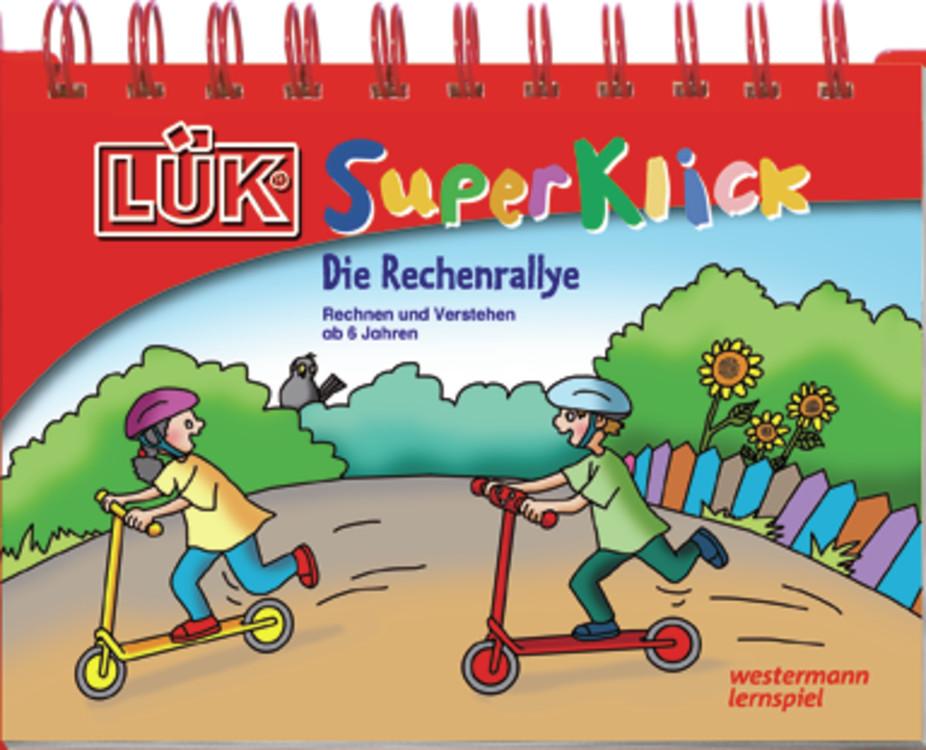 LÜK-SuperKlick. Rechenrallye: Übungen für Schulanfänger - zum Schließen ins Bild klicken