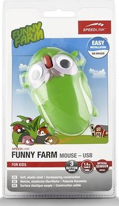 Speedlink SL-6135-GSH FUNNY FARM Mouse USB, FOR KIDS, 3-Tasten-M