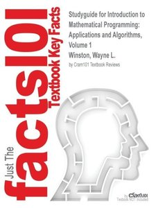 Studyguide for Introduction to Mathematical Programming