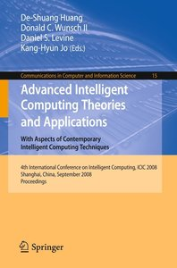 Advanced Intelligent Computing Theories and Applications With As