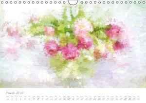 Art meets Flowers (Wall Calendar 2015 DIN A4 Landscape)