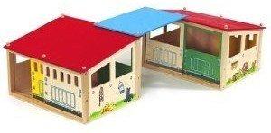 Eichhorn 100002517 - Holz-Pferdestall, inklusive 2 Gebäuden und