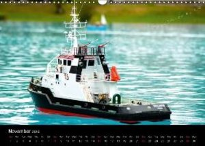 Model Boats in their element (Wall Calendar 2015 DIN A3 Landscap