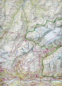 KuF Wallis Holiday Map 1 : 120 000
