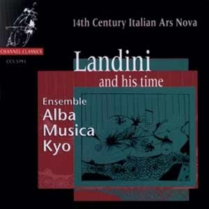 Landini and his time-14th Century Italian Ars No