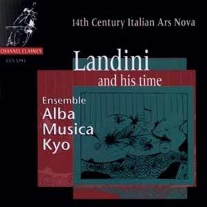 Landini and his time-14th Century Italian Ars No