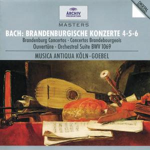 Brandenburgische Konzerte 4-6/Orchestersuite 4