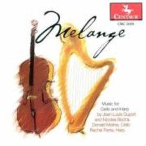 Melange.Cello und Harfe