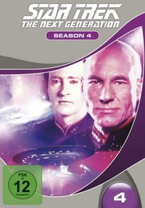 STAR TREK: The Next Generation - Season 4 (7 Discs, Multibox)