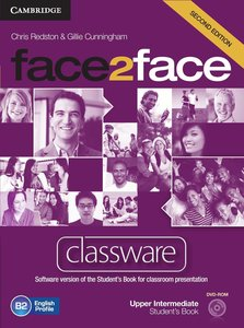 face2face. Classware DVD-ROM. Upper-Intermediate 2nd edition