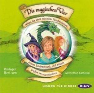 Die magischen Vier 01 retten die Welt mit einer Taschenlampe, ei