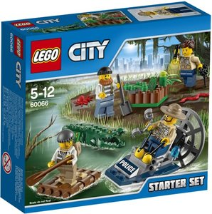 LEGO 60066 - City: Sumpfpolizei Starter-Set