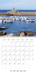 The Magic of Brittany (Wall Calendar 2015 300 × 300 mm Square)