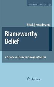Blameworthy Belief