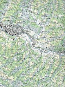 Swisstopo 1 : 25 000 Langnau i. E.