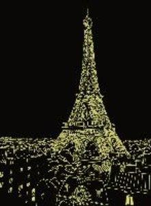 Funkelnder Eiffelturm. Puzzle 500 Teile