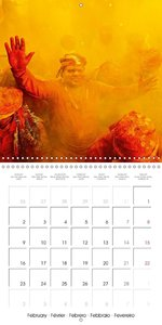 Festival of colours: Holi in India (Wall Calendar 2015 300 × 300