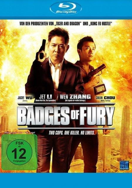Badges of Fury - Two Cops - One Killer - No Limits - zum Schließen ins Bild klicken