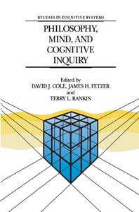 Philosophy, Mind, and Cognitive Inquiry