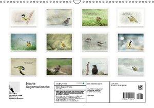 Irische Segenswünsche (Wandkalender 2016 DIN A3 quer)