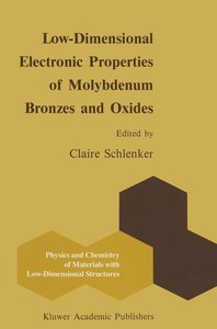 Low-Dimensional Electronic Properties of Molybdenum Bronzes and
