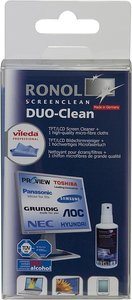 RONOL DUO CLEAN 50ml ScreenCleaner + 1 Vileda Mikrofasertuch