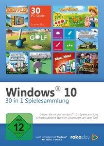 Windows 10 - 30 in 1 Spielesammlung