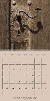 classic retro sepia (Wall Calendar 2015 300 × 300 mm Square) - zum Schließen ins Bild klicken