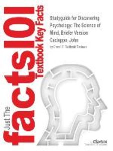 Studyguide for Discovering Psychology: The Science of Mind, Brie