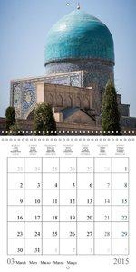Uzbekistan - Domes & Minarets (Wall Calendar 2015 300 × 300 mm S