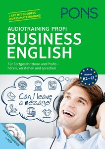 PONS Audiotraining Profi Business English