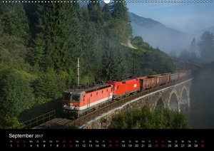 Die Bahn im SalzburgerlandAT-Version (Wandkalender 2017 DIN A2 q