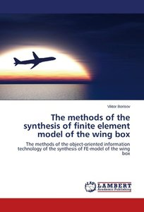 The methods of the synthesis of finite element model of the wing