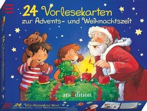 24 Vorlesekarten zur Advents- und Weihnachtszeit