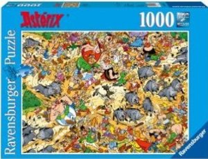 Asterix Wildschweinjagd. Puzzle 1000 Teile