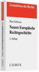 Neuere Europäische Rechtsgeschichte