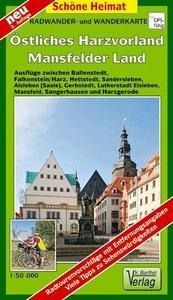 Östliches Harzvorland - Mansfelder Land 1 : 50 000. Radwander- u
