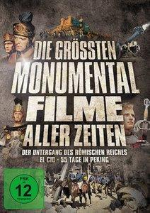 Die grössten Monumentalfilme aller Zeiten