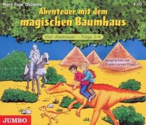 Das magische Baumhaus 1-4. Abenteuer mit dem magischen Baumhaus