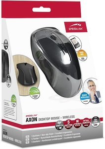 Speedlink AXON Desktop Mouse, Maus - Wireless, grau