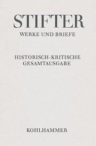 Werke und Briefe I/2. Studien, Journalfassungen II