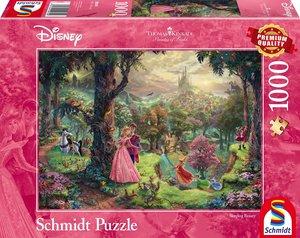 Schmidt 59474 - Thomas Kinkade, Disney Dornröschen, Puzzle, 1000