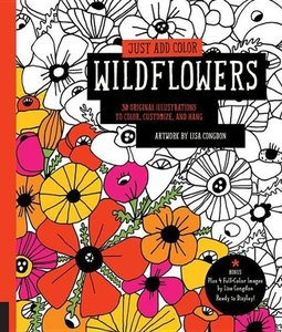 Congdon, L: Just Add Color: Wildflowers