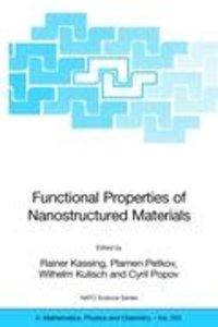 Functional Properties of Nanostructured Materials