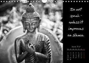 Words of Buddha 2015 (Wall Calendar 2015 DIN A4 Landscape)
