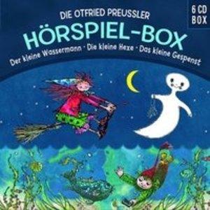 Die O.Preußler-Hörspielbox: Wasserm/Hexe/Gespenst