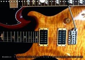 ROCK GUITARS Snapshots (Wall Calendar 2015 DIN A4 Landscape)