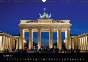 Evening Walk through Berlin (Wall Calendar 2015 DIN A3 Landscape