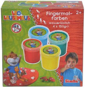LEO LAUSEMAUS Fingermalfarben