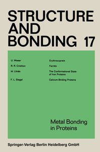 Metal Bonding in Proteins